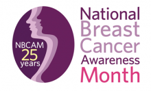 National Breast Cancer Awareness Month Logo